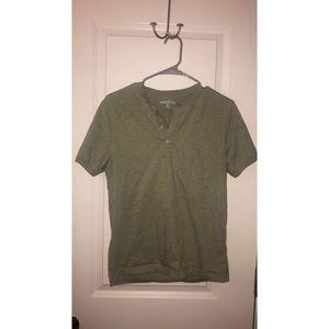 S Green Men's J Crew Shirt